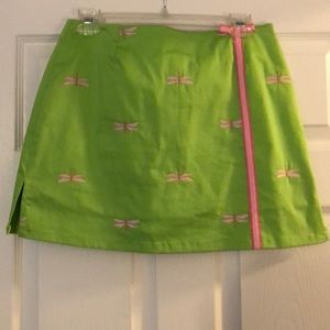 Green and Pink skort from Lilly Pulitzer!
